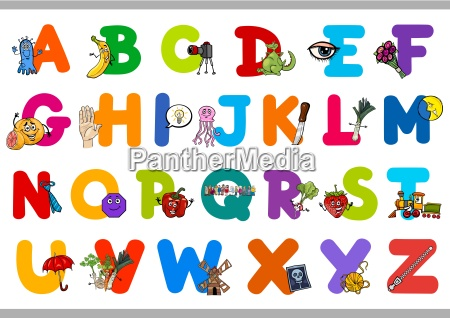 educational alphabet for children