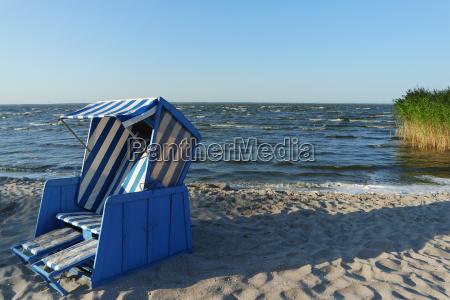 beach idyll on the lagoon