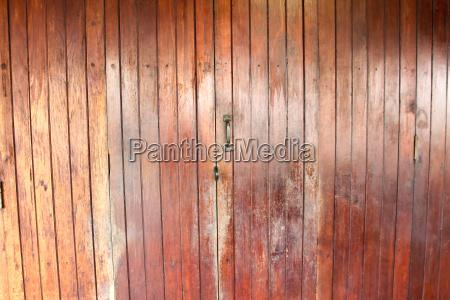 vintage wooden door old building style