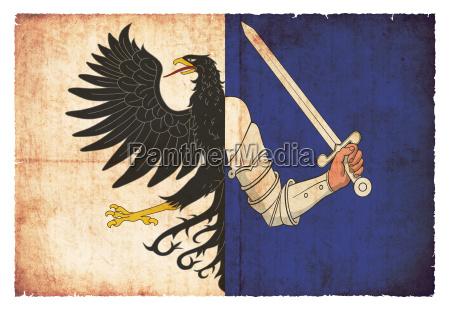 grunge flag connacht ireland