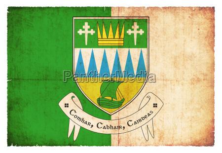 grunge flag kerry ireland