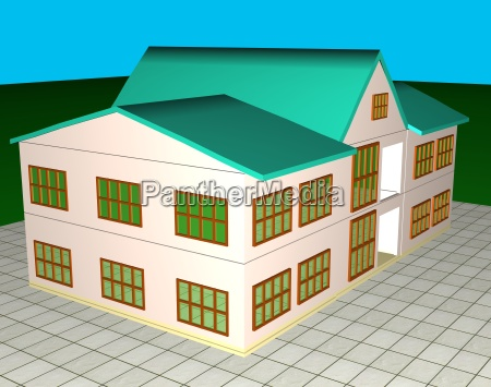house home dwelling house residential building