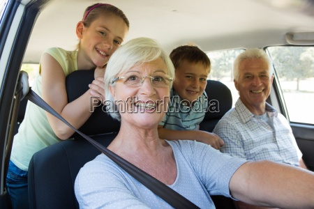grandparents going on road trip with