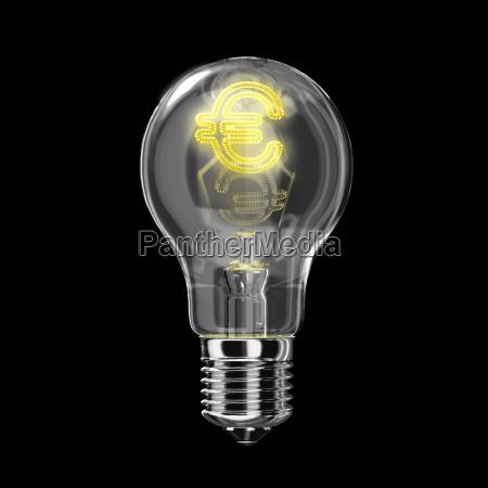 light bulb classic type the filament