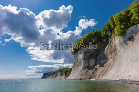 baltic coast on the island of