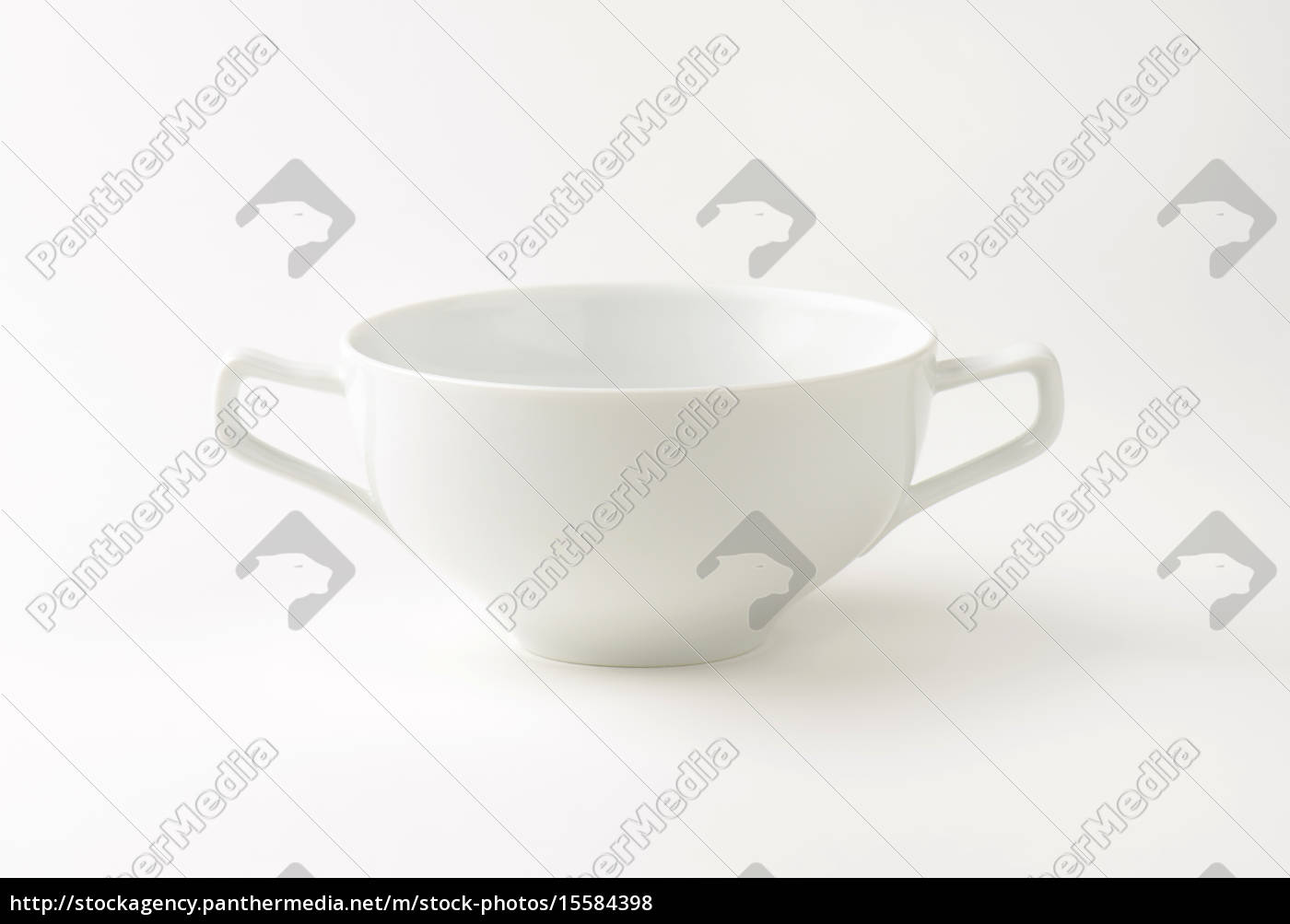 double, handled, soup, bowl - 15584398