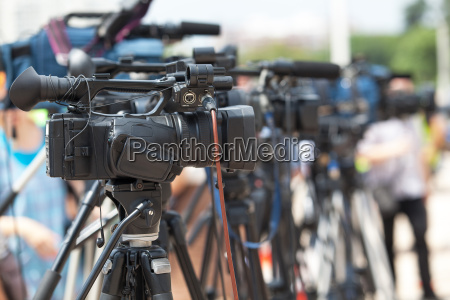 news conference tv broadcasting