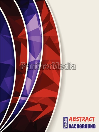 abstract purple brochure with light and