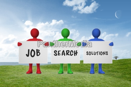 composite image of job search solutions