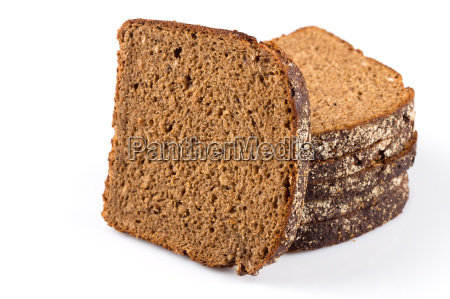 sliced of rye bread