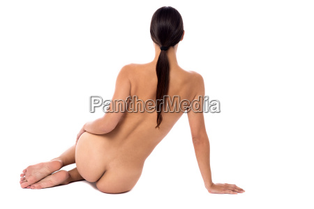 implied pose of a young woman