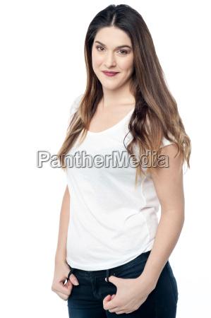 portrait, of, a, confident, young, woman - 15677556
