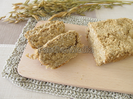 home made oat bread