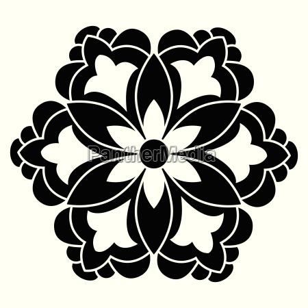 antique ottoman turkish vector design five