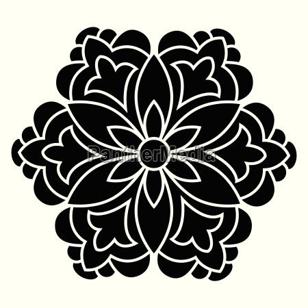 antique ottoman turkish vector design four