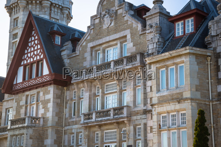 nice magdalena palace in santander spain