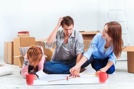 the happy family at repair