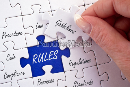 rules business concept