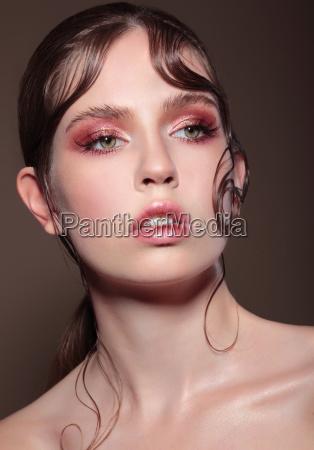 portrait of a woman makeup