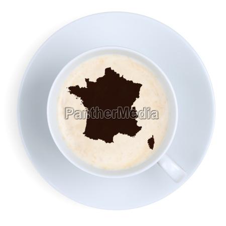 coffee france card coffee break in