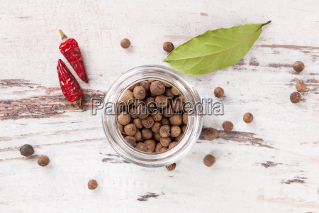 spice and condiments background