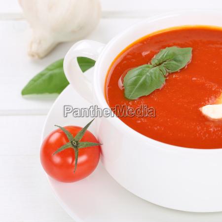 healthy diet fresh tomato soup tomato