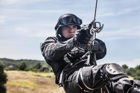 police assault operation