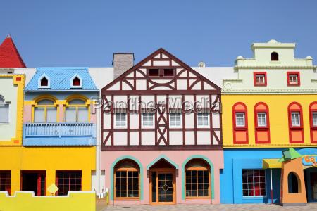 unique european styled houses architecture