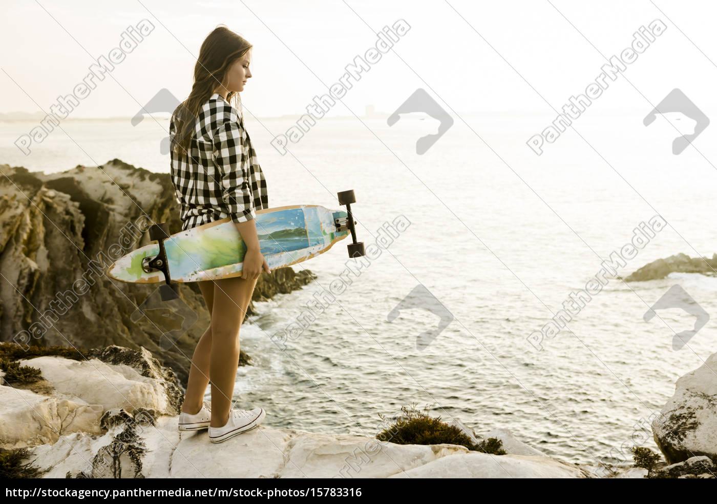 skater, girl - 15783316