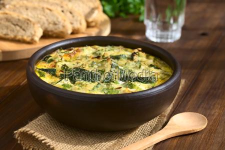zucchini, frittata - 15784978