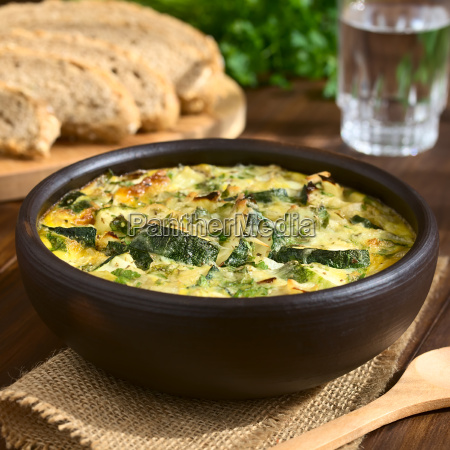 zucchini, frittata - 15784980