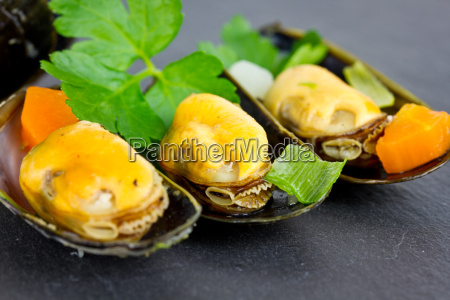 boiled, mussels - 15785264