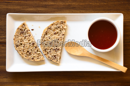 rose, hip, jam, and, bread - 15785002