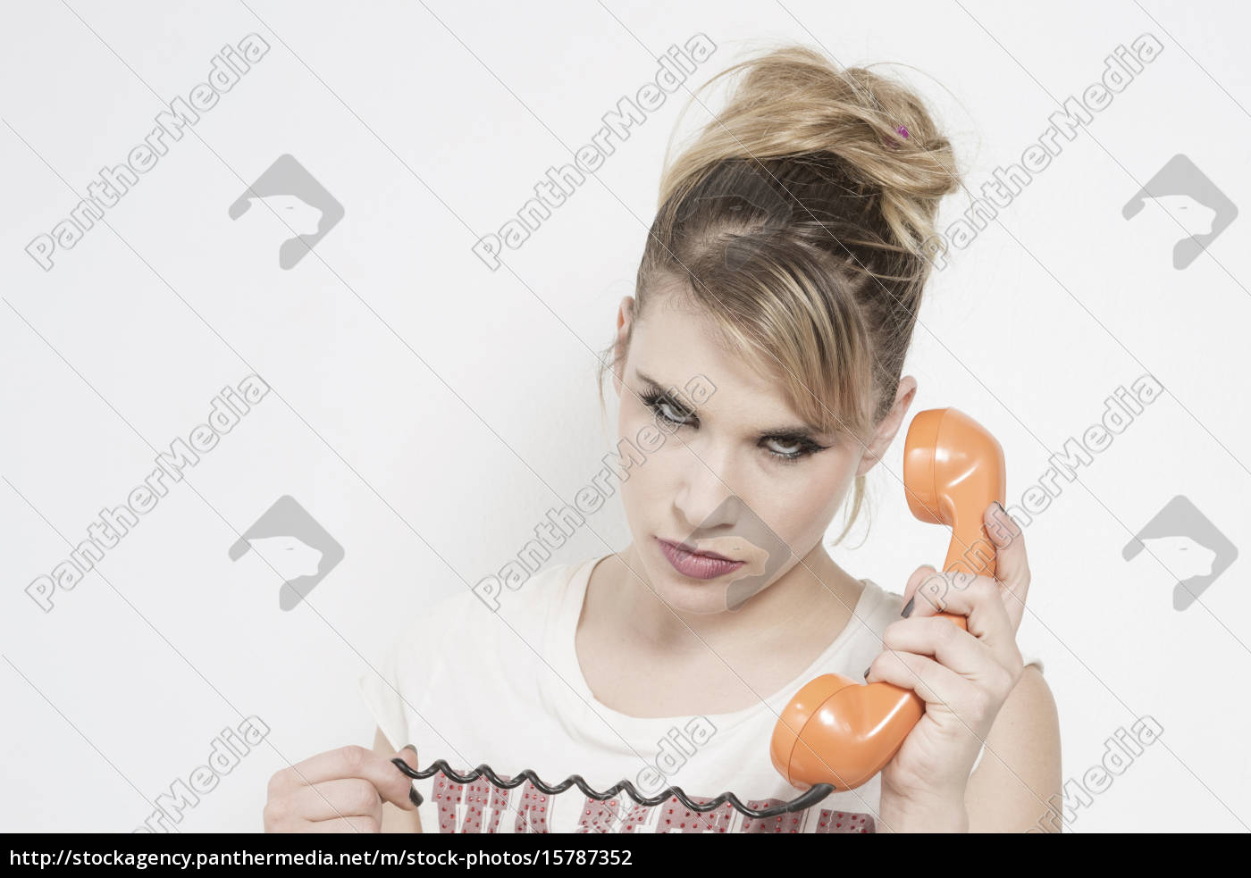 blonde, on, the, phone - 15787352