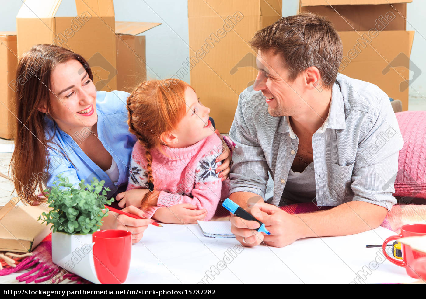 the, happy, family, , during, repair - 15787282