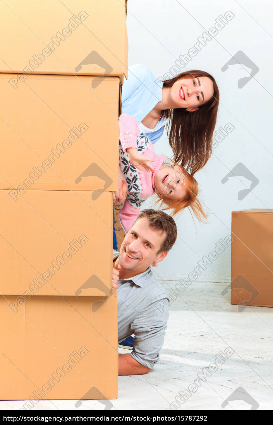 the, happy, family, , during, repair - 15787292