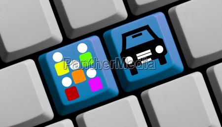 keyboard carsharing