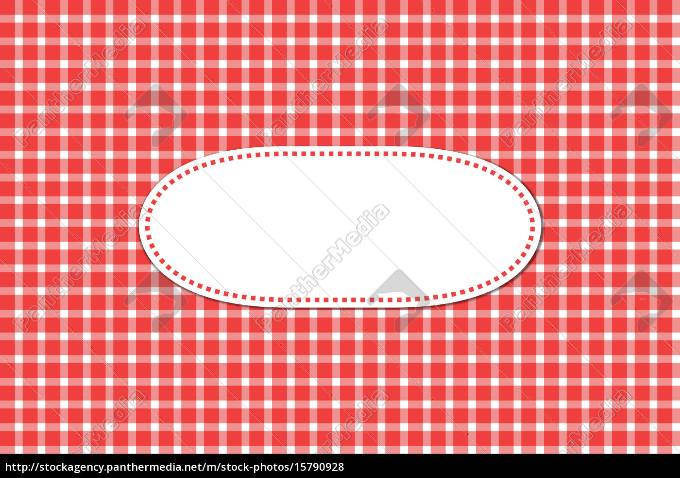 greeting, card, with, tablecloths, patterns, red - 15790928