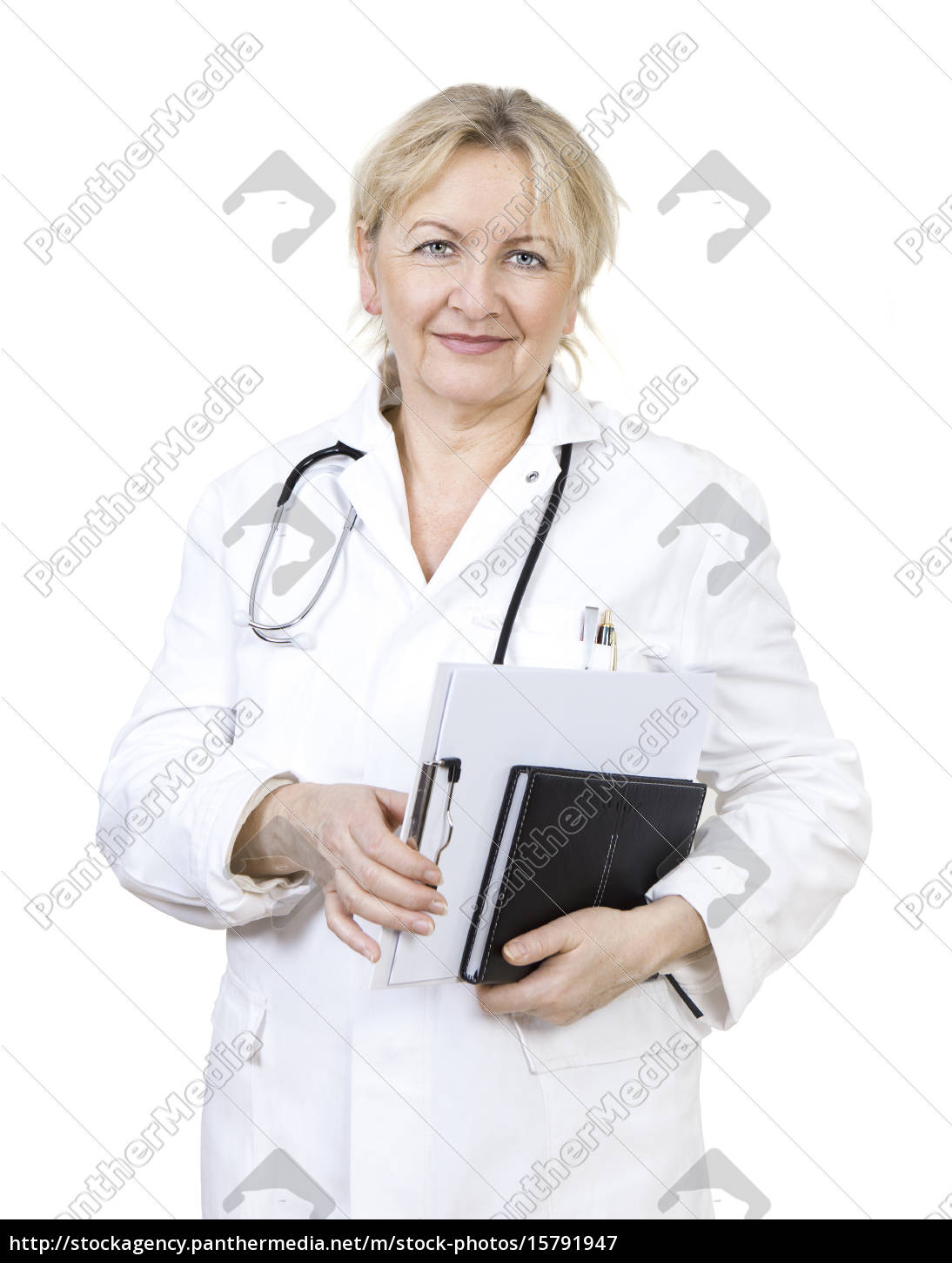 doctor, with, notepad - 15791947
