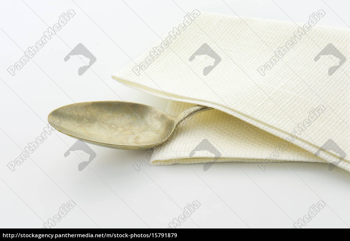 old, silver, spoon - 15791879
