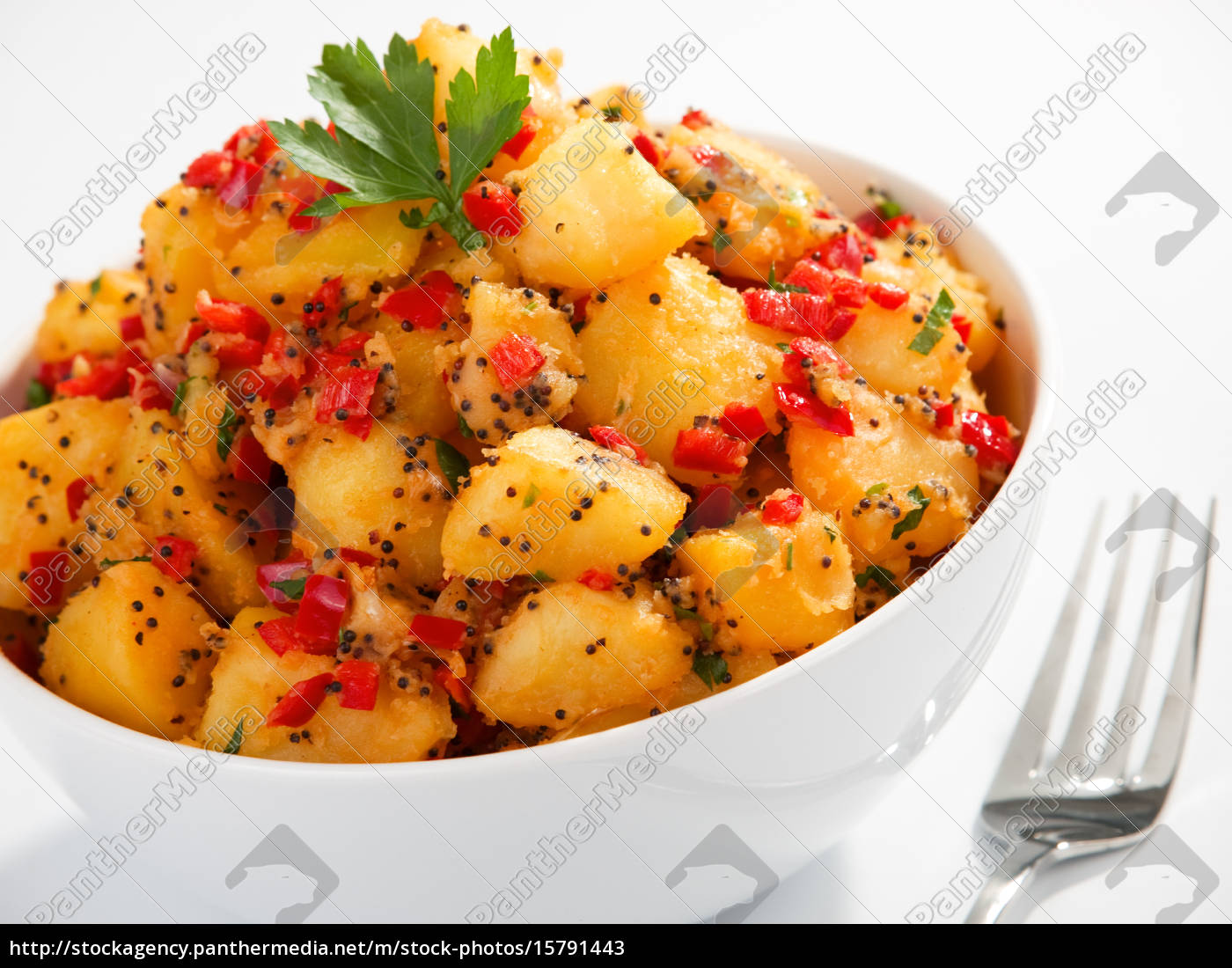 potatos, with, sesame, and, cilantro - 15791443