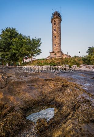 lighthouse in savudrija istria croatia