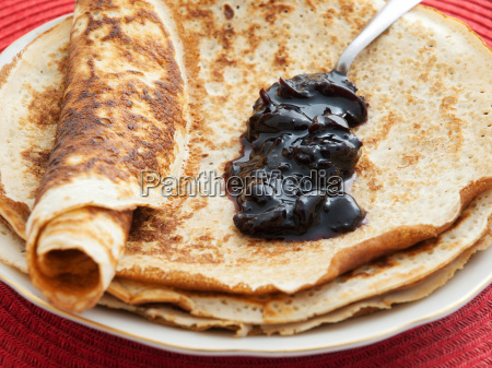 pancakes, with, blueberry, jam, pancakes, with, blueberry - 15792931