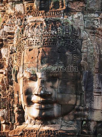 bayon, temple, in, angkor, wat, , cambodia, bayon - 15793037