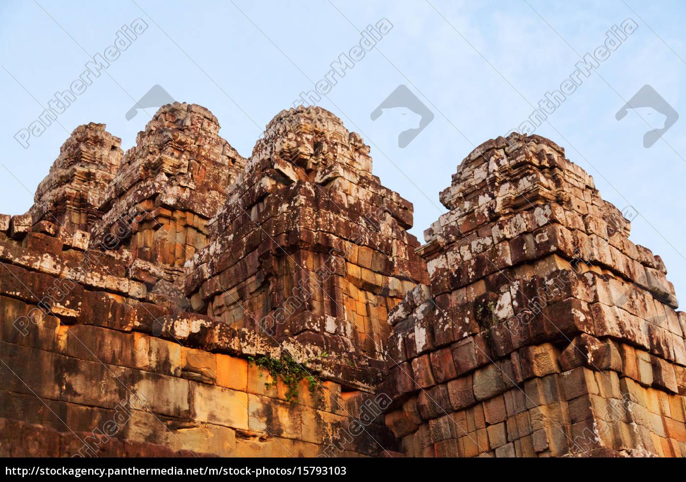 phnom, bakheng, in, angkor, wat, , cambodia, phnom - 15793103