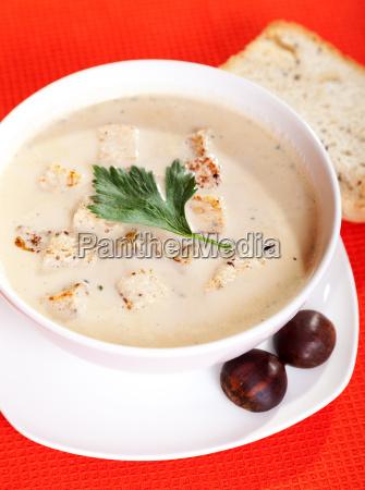 chestnut, cream, soup, chestnut, cream, soup - 15794535