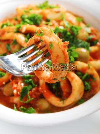 stewed, squids - 15794819
