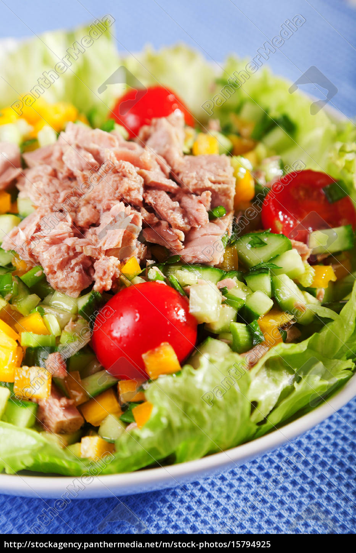 tuna, salad - 15794925