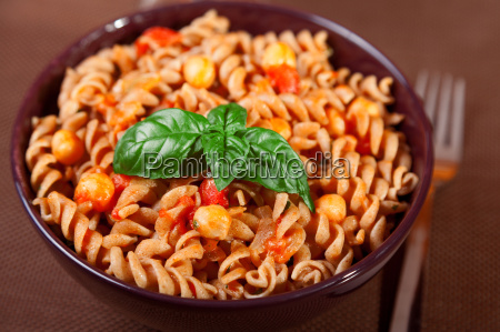 pasta collection fusilli with chick