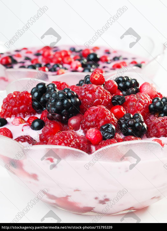 berry, yogurt, berry, yogurt, berry, yogurt, berry, yogurt - 15795339